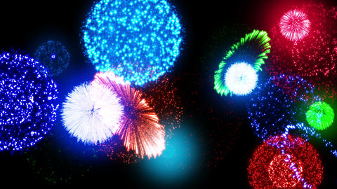 Fireworks Festival 4 En1s 4K Animation