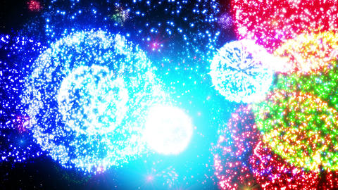 Fireworks Festival 4 En2 4K CG動画