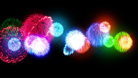 Fireworks Festival 4 Fm1 4K Animation
