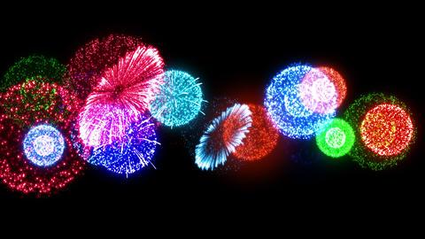 Fireworks Festival 4 Fn1 4K Animation