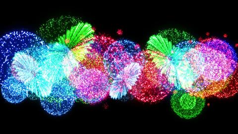Fireworks Festival 4 Fn1op 4K CG動画