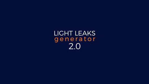 Light Leaks Generator 2.0 Premiere Proテンプレート