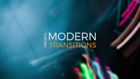 Light Transitions Presets V 7 Plantillas de Premiere Pro