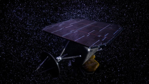 the space probe Deep Impact mission Live Action