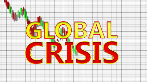 4K Global Crisis Recession Panic 2 Animation