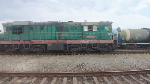 ChME3-4713 - diesel locomotive Live Action