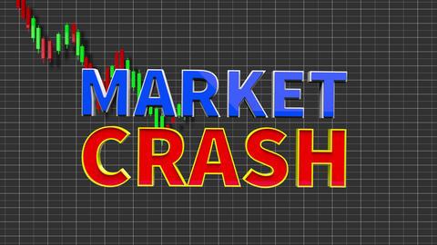 4K Stock Market Crash 2 Animation