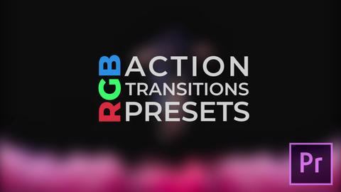 RGB Action Transitions Plantillas de Premiere Pro