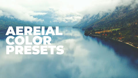 30 Cinematic Aerial Color Presets for Premiere Pro Plantillas de Premiere Pro
