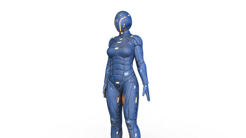 Cyborg Videos animados