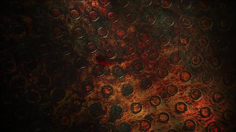Mystical horror background with dark blood Animation