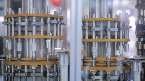 Automatic inspection machine quality control equipment for ampoules and vials Footage