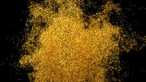 Glitter Sparkle Particle Explosion Background Texture Slow Motion alpha channel Animation