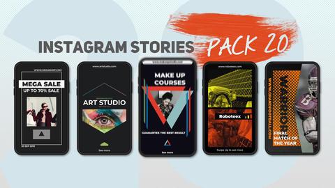 100 Instagram Stories V.2