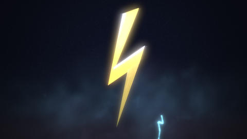 Motion retro thunderbolt abstract background 스톡 비디오 클립, 영상 소스, 스톡 4K 영상