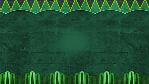 Green Background With Patterns For Invitations Or Text Animations Looping Videobackground Animation