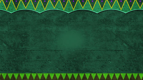 Slowly Moving Green Celebrative Background With Paper Like Texture Looping Seamlessly Animation