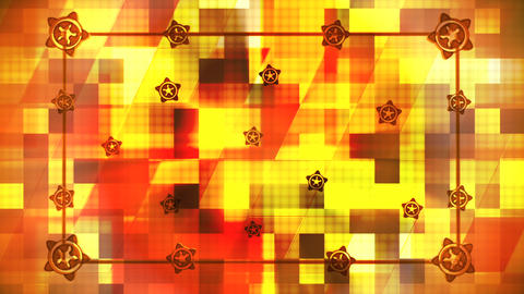 Broadcast Hi-Tech Slant Squares Frame, Multi Color, Abstract, Loopable, HD Animation