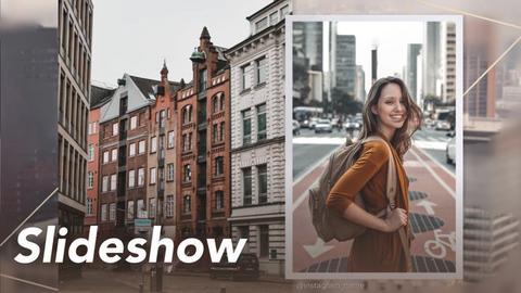 Simple Slideshow Premiere Pro Template