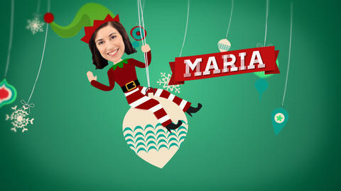 Christmas Elves Holiday Greeting After Effects Template