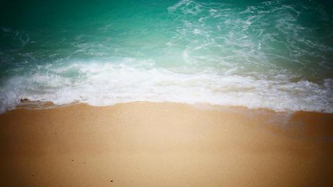 Tropical sea coast high angle Footage