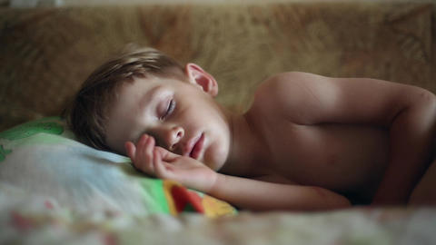Little boy sleeping Live Action