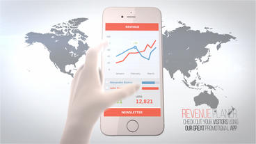 Iphone APP commercial After Effects Template