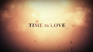Time to love After Effects Project