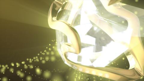 Diamond Ring Background 4K (Loop D) Footage