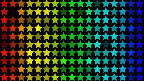 Star Gradation Stock Video Footage