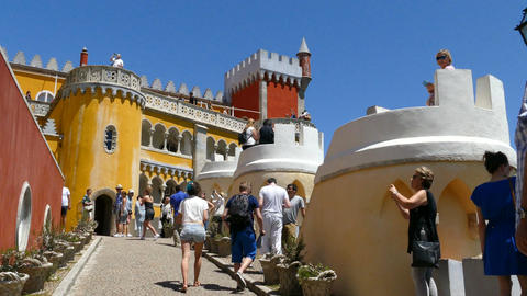 The Pena Palace, entrance Live Action