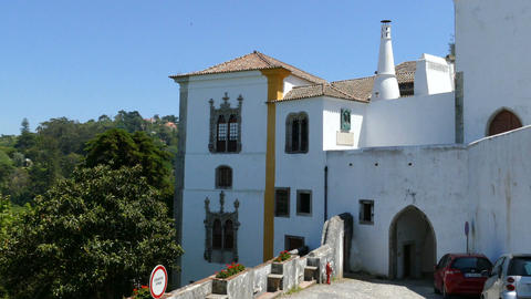 The Palace of Sintra from behind Live Action