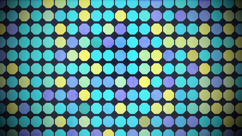 Motion colorful hexagon pattern, abstract background Animation