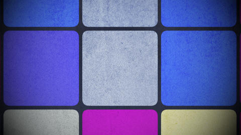 Motion colorful squares pattern, abstract background Animation