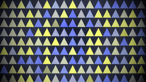 Motion colorful triangles pattern, abstract background Animation