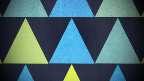 Motion colorful triangles pattern, abstract background Videos animados