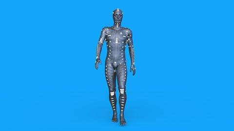 Cyborg Walk GIF
