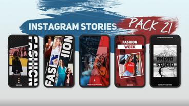 Instagram Stories Pack 21 After Effects Template