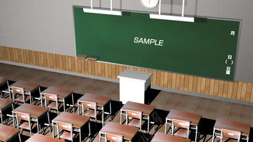 classroom After Effects Template