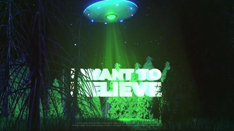UFO Logo Premiere Proテンプレート