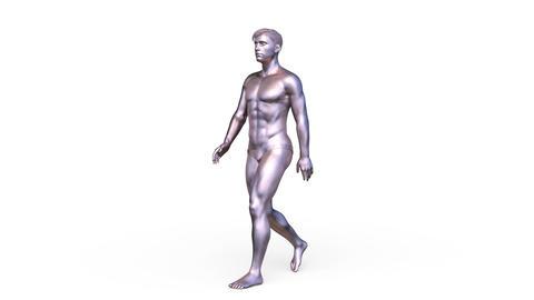 Walking person GIF