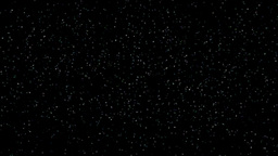 Slowly flickering star background Stock Video Footage