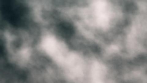 Slow Motion Billowing Clouds Loop Version 1 Stock Video Footage