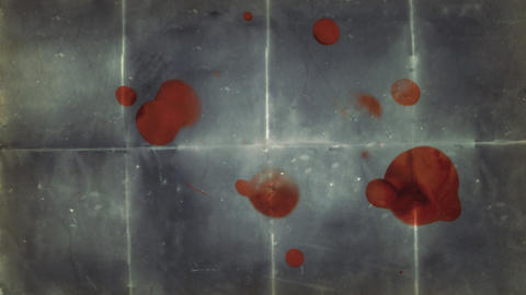Blood Stained Paper Background Stock Video Footage