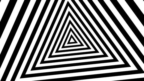 triangle stripes tu nnel Animation