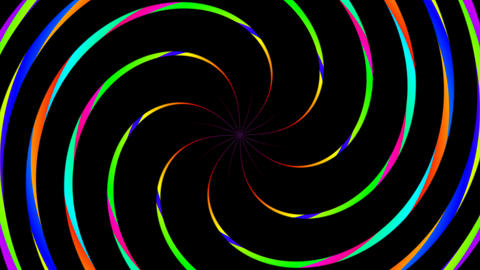rotating twirl color Stock Video Footage