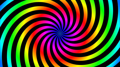 twist color hypnotize Animation