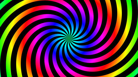 twist color hypnotize Stock Video Footage