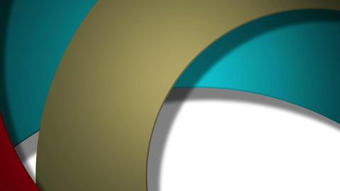 retro circle Stock Video Footage