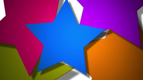 stars rotation Animation